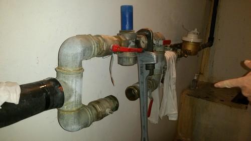 Arriv e eau immeuble fuite - Reducteur de pression d eau apres compteur ...